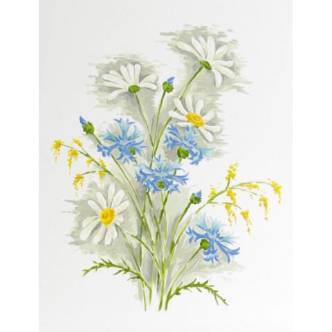 """Купол с рисунком """"Полевые цветы"""""""